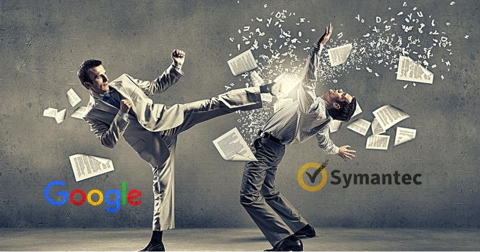Image result for google vs symantec