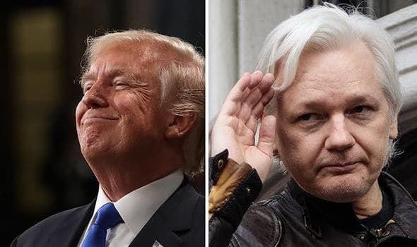 Assange vs trump